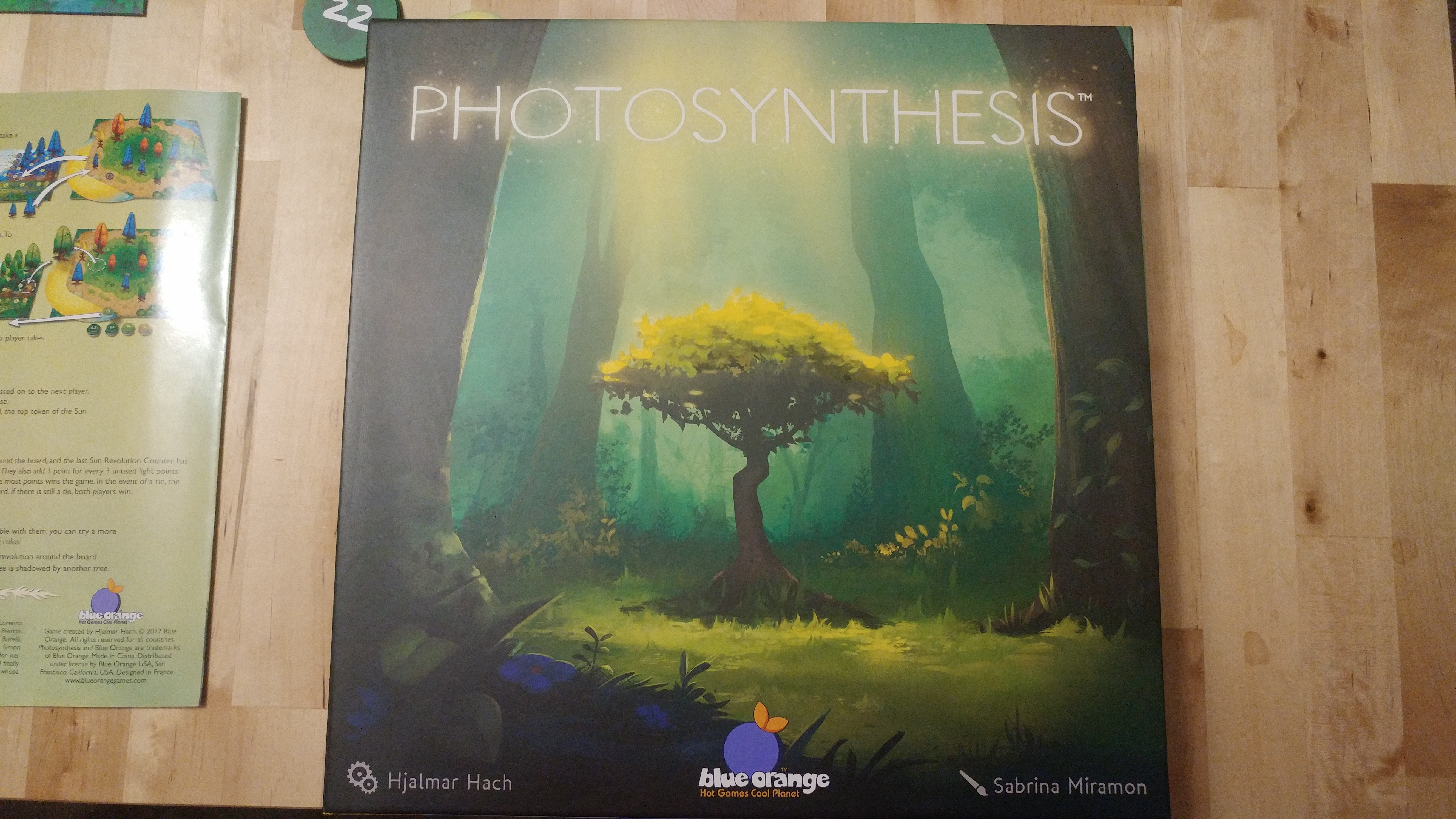 Blue Orange Photosynthesis Board Game For 2-4 Players Toys