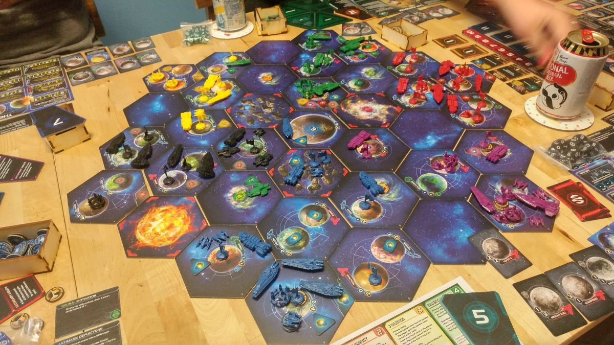 Playing Twilight Imperium 4th Edition for the Second Time